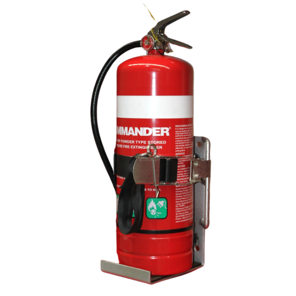 adjustable fire extinguisher vehicle bracket