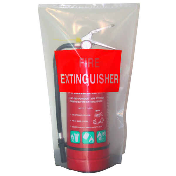 uv resistant fire extinguisher cover